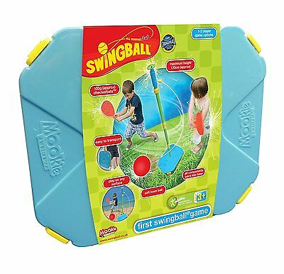 Mookie All Surface First Swingball Set Easy Indoor & Outdoor Fun Ages 3+