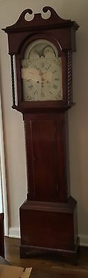 Wonderful Antique Grandfather Long-Case Clock -1760  WORKING CONDITION BEAUTIFUL