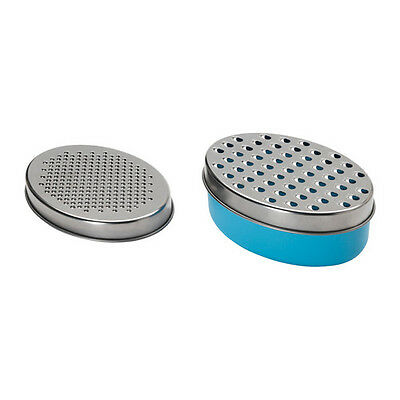 Ikea Chosigt, Grater with Container, Blue - BNIP