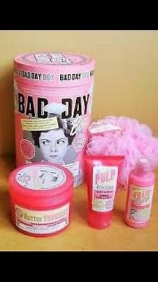 Soap and Glory BAD DAY Gift Box: Foam Call, Butter Yourself & Pulp Friction SET