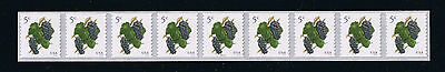 US NEW 2016 Purple Grapes (Sc #5038) Plate Number Strip of 9 Postage Stamp