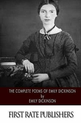 The Complete Poems of Emily Dickinson by Emily Dickinson Paperback Book New