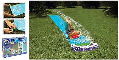 Kids Childrens Fun Outdoor Garden Inflatable Water Slide Slider Mat 16 Foot