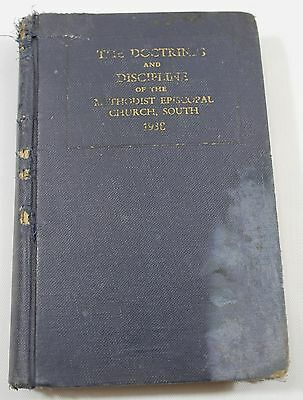 The Doctrines and Discipline of the Methodist Episcopal Church South 1938 Hard