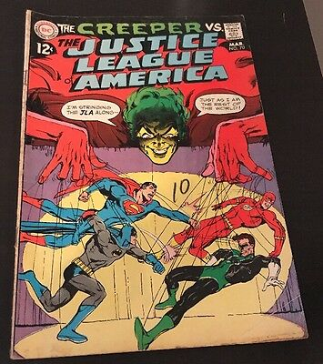 Justice League of America #70 (Mar 1969) FN+ Neal Adams Cover Creeper Appearance