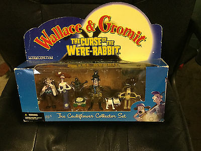 Wallace and Gromit The Curse Of The Were Rabbit Cauliflower & Carrot Collectors