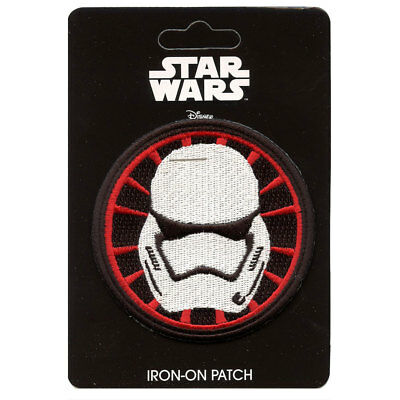 Star Wars First Order Stormtrooper Logo Iron-On Patch