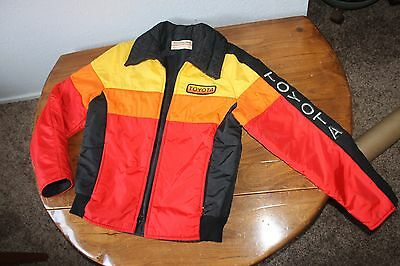 Men's   Vintage Toyota  Toyotaline   Molly  Designs  Jacket Coat    Medium