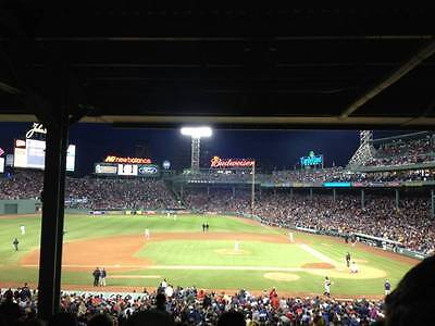 2 Infield Grandstand Tickets Boston Red Sox vs Chicago White Sox 8/4