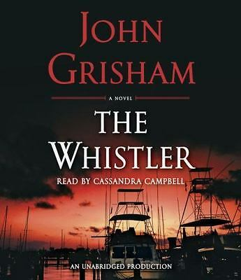The Whistler by John Grisham (2016, CD, Unabridged) FREE SHIPPING WITH TRACKING!