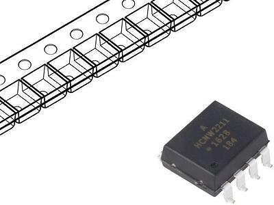 HCNW2211-500E Optocoupler SMD Channels1 Out gate 3.75kV Gull wing 8