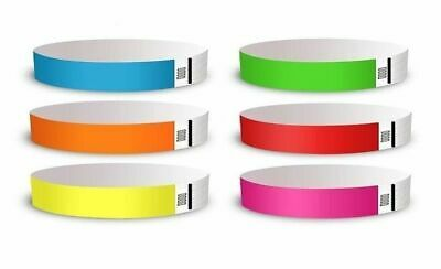 Cheapest Tyvek Wristbands. Choice of colours & quantity. Free Postage