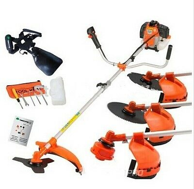 Multi powerful 52cc gasoline brush cutter 4 in 1 grass trimmer strimmer cutter