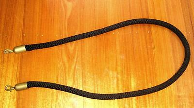 Vintage CROWD CONTROL BARRIER ROPE From the Underground Nightclub Melb. 1980's
