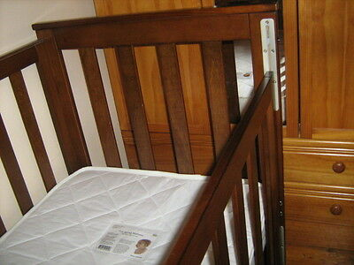 Baby Cot and Mattress as New Condition