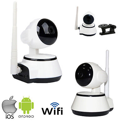 Telecamera Ip Motorizzata Wifi Camera 720P Wireless Ios Android Motion Micro Sd