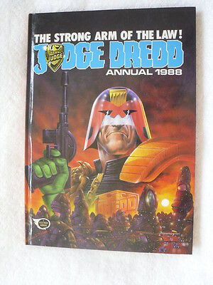 Judge Dredd Annual 1988 - Unclipped - A Fleetway Annual