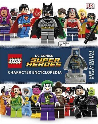 LEGO DC Super Heroes Character Encyclopedia (DK Lego) by DK Hardback Book New