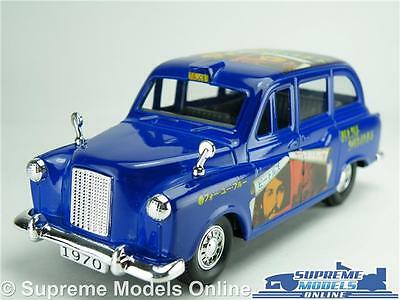 The Beatles London Taxi Car Model Long & Winding Rd 1:36 Album Fun Factory Fx4 T