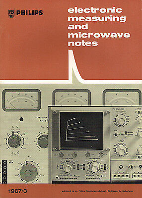 Philips - Electronic measuring and microwave notes, 1967/3