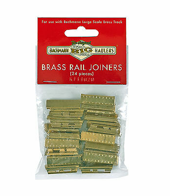Bachmann G Scale Brass Track Accessory - Brass Rail Joiners