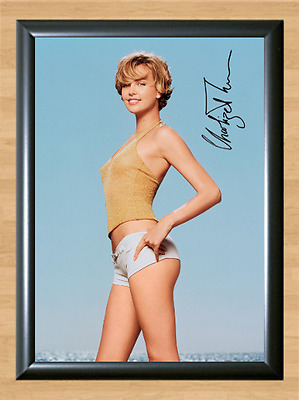 Charlize Theron Young Signed Autographed A4 Photo Print Poster Memorabilia Movie