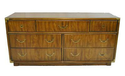 Campaign Style Seven Drawer Accolade Dresser by Drexel