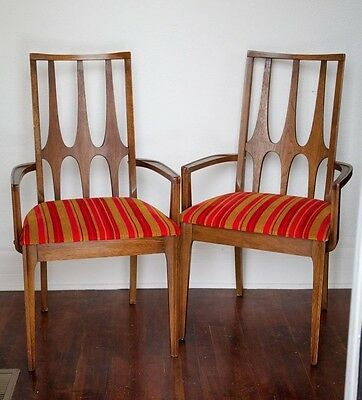Broyhill Brasilia - THREE Piece Back DINING CHAIRS  ARM CHAIRS