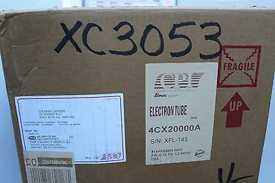 Eimac  4CX20000A Ham 4CX 20000 A Broadcast Industrial RF Power Tube NEW  NOS