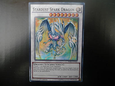 Stardust Spark Dragon * Super Rare HRSD * Slight Factory Damage * Yu-gi-oh