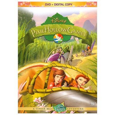 Pixie Hollow Games: Disney (Animated Children's DVD+DC) NEW; Sealed Rare OOP