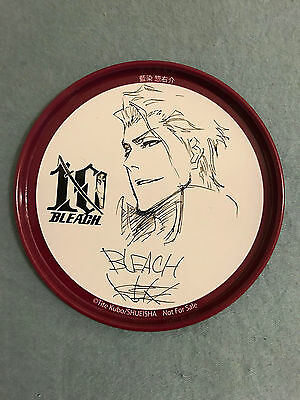 BLEACH Limited Edition 10th Anniversary Metal Coaster Aizen