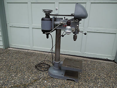 "Rockwell Delta DP 220 Drill Press 14"" Bench Top model - 1953"