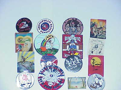 16 Assorted Grateful Dead Jerry Garcia  Out Of Print Relix Pins On Sale!