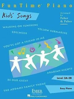 Funtime Piano Kids Song - NEW - 9781616776282 by Faber, Nancy (CRT)/ Faber, Rand