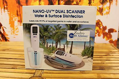 Zadro Nano-UV Dual Scanner Water and Surface Disinfection Device - FREE USA SHIP
