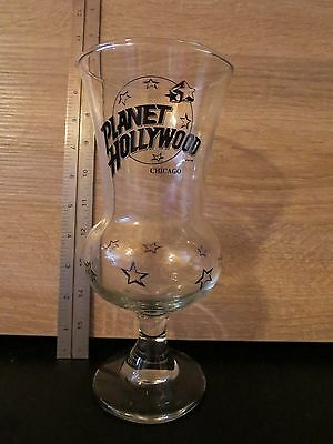 Planet Hollywood Hurricane Cocktail Glasses Chicago Advertising