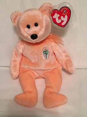 TY Beanie Baby - DEAREST the Mothers Day Bear - Pristine w  Mint Tags - 10703a8976a7