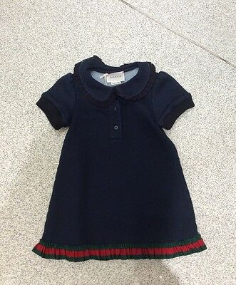 Gucci Baby Girls Dress, 12-18 months, Brand new with tag.