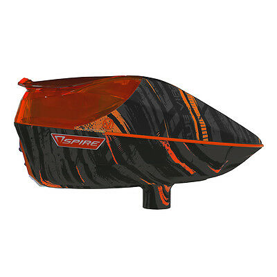 Virtue Spire 200 Electronic Paintball Loader - Graphic Orange