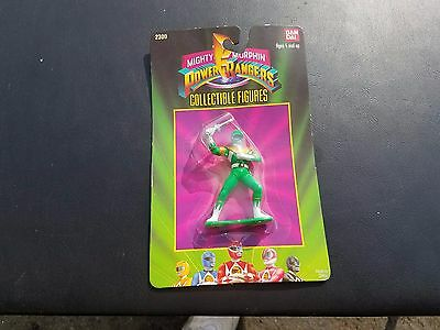 1993 Green Mighty Morphin Power Rangers Collectible Figure - Unopened