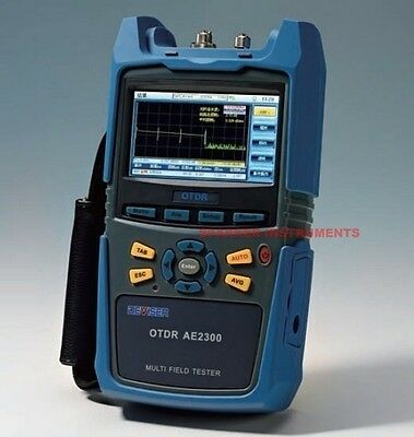AE2300H Palm OTDR Tester 1310nm/1550nm Optical Time Domain Reflectometer 36/34dB