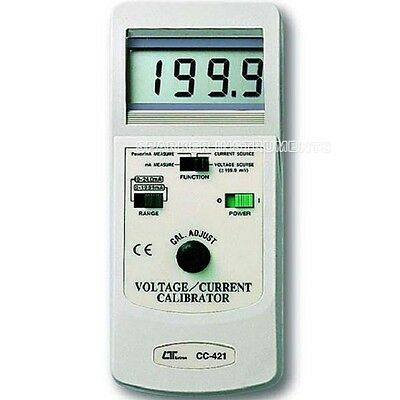 CC-421 V/A Voltage/Current Calibrator Power Process Calibrating Device LUTRON
