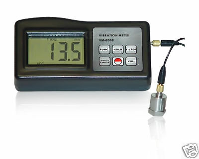 New Digital Vibration Tester,Meter and Monitor,Vibrometer VM-6360