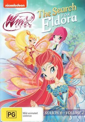 Winx Club: The Search for Eldora - Season 6 Volume 2 (DVD) Brand New