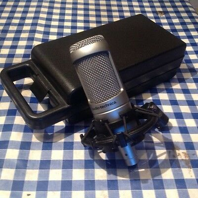 Audio Technica AT3035 microphone. 1of 2.