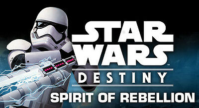 Spirit of Rebellion Single Cards - Rare with Dice -  Star Wars Destiny