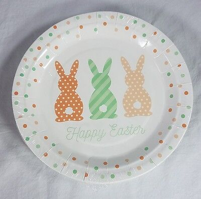 New 9 inch EASTER Paper Plates~ 16ct Plates - Happy Easter