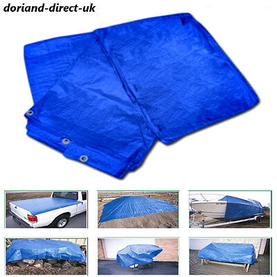 New Waterproof Tarpaulin Ground Sheet Camping Cover Large Sizes Extra Value Tarp