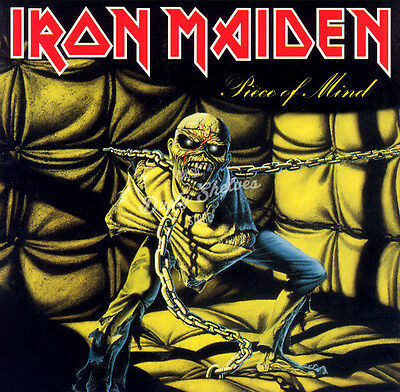 IRON MAIDEN PIECE OF MIND CD in Jewel Case Booklet Album New Sealed